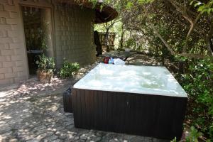 Hytte med felles bad