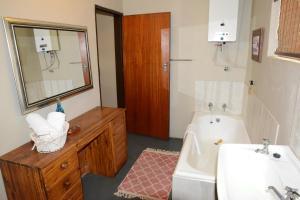 Cabaña de 2 dormitorios con bañera