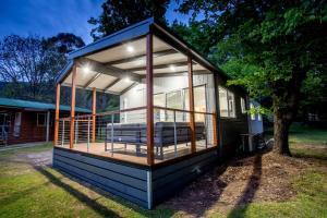 Bright Freeburgh Caravan Park, Комплексы для отдыха с коттеджами/бунгало  Брайт - big - 43