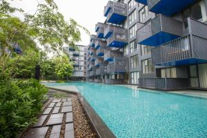 The Deck Condo Patong by VIP, Apartmány  Patong - big - 9