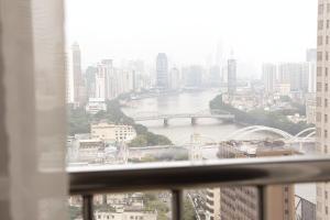 iHotel Apartment Guangzhou Folk Financial Mansion Branch, Apartmány  Kanton - big - 6