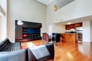 Palais-des-Congrès Furnished Apartments, Appartamenti  Montréal - big - 106