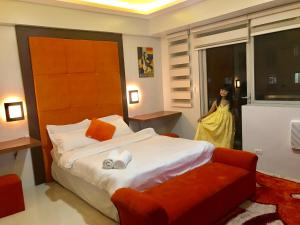 Studio type with free wifi, Ferienwohnungen  Manila - big - 15