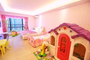 Checkinn International Apartment Guangzhou Changlong Huamei Branch, Apartmány  Kanton - big - 46