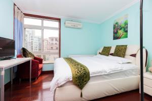 Beijing Jiayuhuxiao Hotel Apartment (Yuanyang Tiandi Branch), Apartmanok  Pejcsing - big - 22