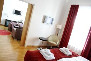 Hotel Skansen, Hotely  Färjestaden - big - 32