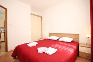 Apartment Stokovci 9039a, Apartments  Štokovci - big - 6