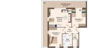 Haus Baltic Cube, Ferienwohnungen  Börgerende-Rethwisch - big - 1