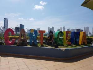 Apartamento en cartagena con vista al Mar /MakroTours, Apartments  Cartagena de Indias - big - 14