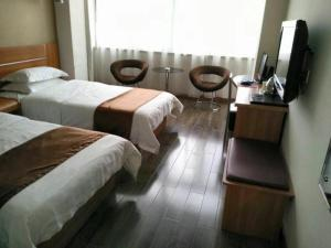 Thank Inn Chain Hotel Shanxi Yulin Qingjian Road, Hotel  Yulin - big - 5