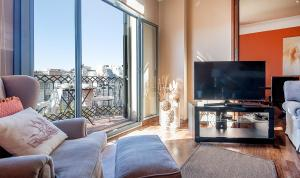 You Stylish The Most Luxury Apartment, Ferienwohnungen  Barcelona - big - 16