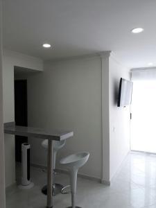 Apartamento Aqualina, Ferienwohnungen  Cartagena de Indias - big - 4