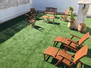 Appartement de luxe avec jardin privé., Апартаменты  Касабланка - big - 2