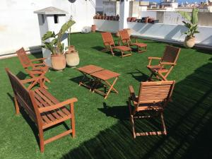 Appartement de luxe avec jardin privé., Apartmány  Casablanca - big - 1