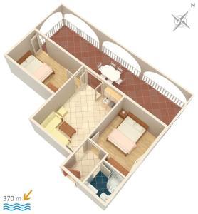 Apartment Vinisce 4886b, Ferienwohnungen  Vinišće - big - 22
