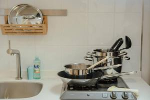 Green Plum Apartment in Shinjuku 405, Apartmány  Tokio - big - 1