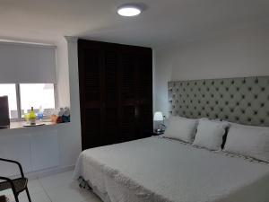 Espectaculares Vistas, Edificio Nautilus, Barrio El Laguito., Apartmány  Cartagena de Indias - big - 58