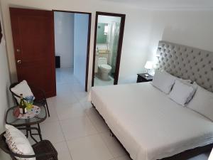 Espectaculares Vistas, Edificio Nautilus, Barrio El Laguito., Ferienwohnungen  Cartagena de Indias - big - 88