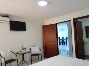 Espectaculares Vistas, Edificio Nautilus, Barrio El Laguito., Ferienwohnungen  Cartagena de Indias - big - 68