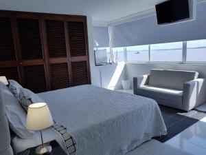Espectaculares Vistas, Edificio Nautilus, Barrio El Laguito., Apartmány  Cartagena de Indias - big - 82
