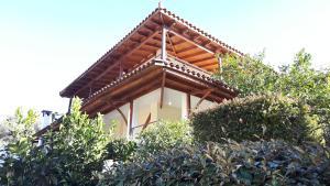 Garden country house