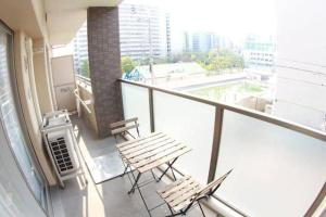 Apartment in Shikitsuhigashi 302, Apartmány  Ósaka - big - 17