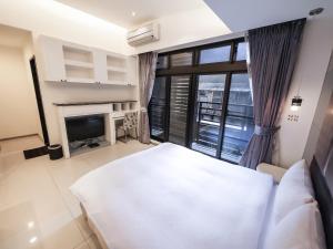 CK Serviced Residence, Апартаменты  Тайбэй - big - 10