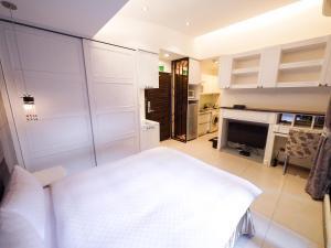 CK Serviced Residence, Апартаменты  Тайбэй - big - 9