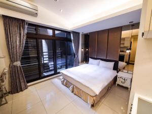 CK Serviced Residence, Апартаменты  Тайбэй - big - 8