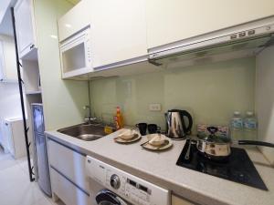 CK Serviced Residence, Апартаменты  Тайбэй - big - 26