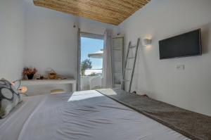 Thomais Studios, Apartmány  Naxos Chora - big - 19