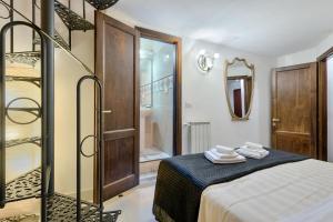 Santo Spirito Frescos apartment, Apartmanok  Firenze - big - 14