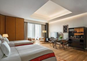 Superior Room  with Two Double Beds and  City View
