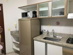 Flat em Caldas Novas, Apartmanok  Caldas Novas - big - 27