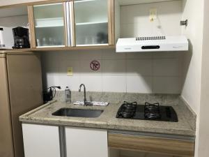 Flat em Caldas Novas, Apartmanok  Caldas Novas - big - 7