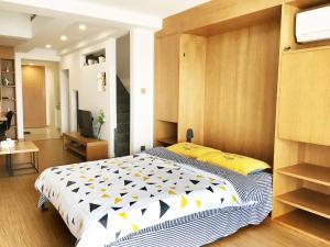 Queen Apartment Puwu Three Bedrooms Loft, Апартаменты  Сямынь - big - 7