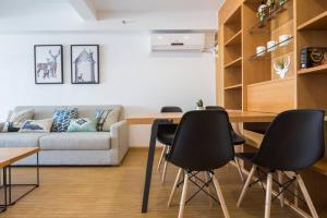 Queen Apartment Puwu Three Bedrooms Loft, Апартаменты  Сямынь - big - 19