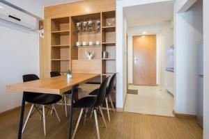 Queen Apartment Puwu Three Bedrooms Loft, Апартаменты  Сямынь - big - 18
