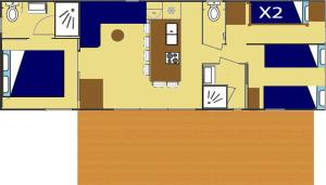 Residence U Veniqui, Nyaralók  Favone - big - 6