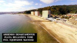 Departamentos Playa Bellavista tome, Apartmány  Tomé - big - 19