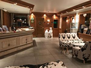 Les Campanules Hôtels-Chalets de Tradition, Hotel  Tignes - big - 64