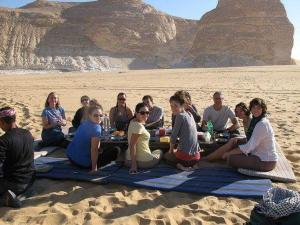 White desert, Campsites  Bawiti - big - 14
