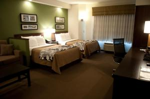 Double Room with Two Double Beds - Non-Smoking - Accessible