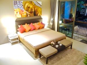 Emerald: Studio in Patong, Apartmány  Patong - big - 5