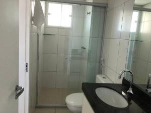 Portal Meireles 402, Апартаменты  Форталеза - big - 14