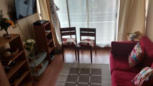 Alameda Lastarria, Apartments  Santiago - big - 5