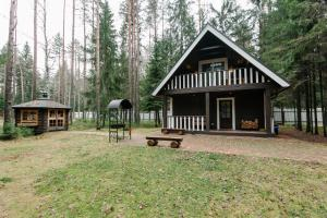 Baza otdiha Lesnaya Obitel, Country houses  Roshchino - big - 40