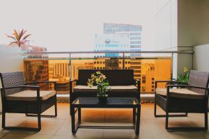Backpackers at AppleOne Equicom Tower, Apartments  Cebu City - big - 16