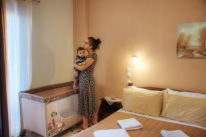 Hotel Mochlos, Апартаменты  Мохлос - big - 9