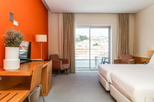 Hotel Praia, Отели  Назаре - big - 35